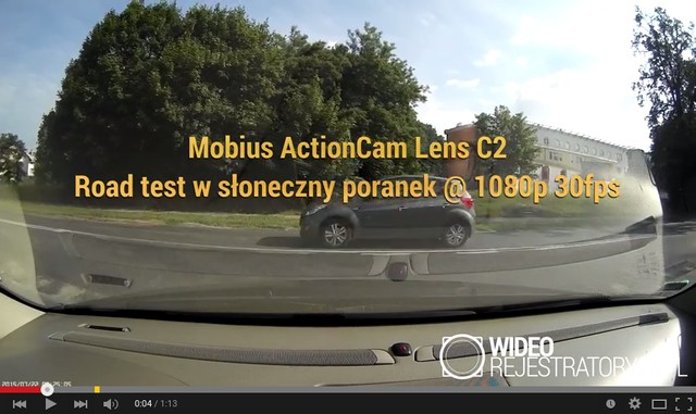 Mobius ActionCam sample video