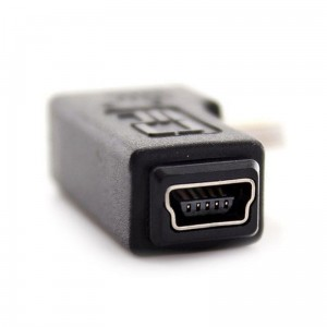 Adapter kątowy mini-USB (lewy)