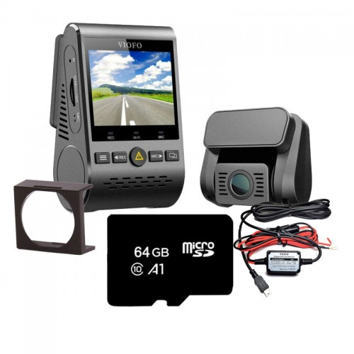 Zestaw Viofo A129 GPS DUAL Power Set