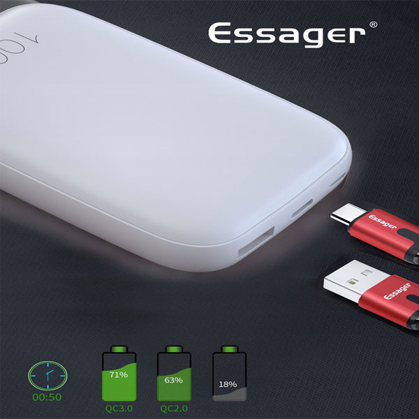 Powerbank Essager 10000 mAh