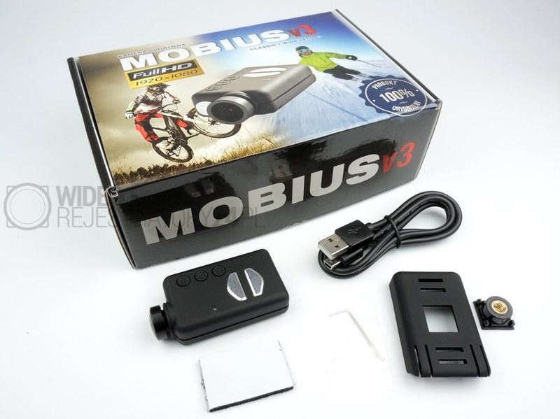 Mobius ActionCam Lens C2 zawartość zestawu